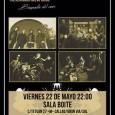Individuo Zero (presentando su LP 'Biografía del Caos') + Leftover Lights @La Boite :: 22/05/2015 LEFTOVER LIGHTS Leftover Lights,banda de rock alternativo madrileña que se encuentra en la gira de […]