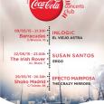 COCA-COLA CONCERTS CLUB 1ra. Oleada 2015 CONCIERTOS DE MAYO Viernes, 22 de mayo – SALA THE IRISHROVER SUSAN SANTOS + ERGO SUSAN SANTOS Su gran pasión por la música le […]