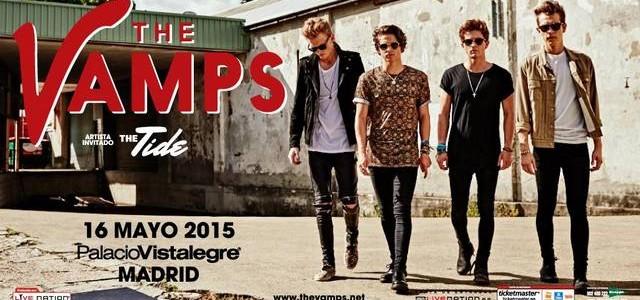 """Todas las fotos realizadas en el concierto de  The Vamps celebrado en el Palacio de Vistalegre de Madrid el día 16/05/15 dentro de su """"Meet The Vamps European..."""