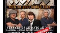 (CRONICA) AC/DC – Estadio Vicente Calderón – Madrid – 31/05/15 Siempre es de agradecer que una banda como AC/DC recale en geografía española en cualquiera de sus majestuosos Tours, gracias...