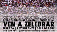 SAN FERMÍN EN ZENTRAL Llegan las fiestas de San Fermín y en Zentral queremos celebrarlo por todo lo alto. Son nuestros primeros Sanfermines y queremos que sean muy especiales. Hemos...