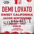 El festival Coca Cola Music Experience 2015 ha colgado el cartel de sold out, los artistas anunciados hasta la fecha son Demi Lovato, Sweet California,Jacob Whitesides, Benjamin, Critika y Saik […]