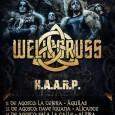 Los checos WELICORUSS con su Black/Pagan Metal, estarán girando por la península Ibérica este próximo Agosto, en unos conciertos que nadie se puede perder, donde estarán acompañados por los metaleros […]