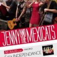 """Jenny and The Mexicats en Madrid  Jenny & The Mexicats acaban de publicar en España su disco """"Frenético ritmo"""" (EsmerArte 2015) que recopila canciones de sus dos discos editados […]"""