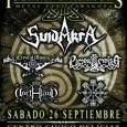 Iberian Warriors METAL FEST Zaragoza. 2015 El día elegido para esta edición es el 26 de septiembre,en Zaragoza con un precio de 15€ anticipada y 18€ en taquilla. Lugar: En […]