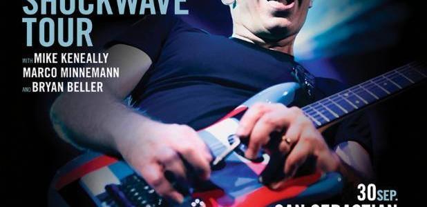 JOE SATRIANI PRESENTA EN ESPAÑA SHOCKWAVE SUPERNOVA. ENTRADAS A LA VENTA El virtuoso guitarristaJoe SatrianilanzaráShockwave Supernova, su decimoquinto álbum de estudio y primero para Legacy Recordings, el 24 de julio....