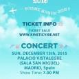 Por fin tenemos ya confirmación del día y lugar del concierto del grupo K-POPB1A4en Madrid, en breve tendremos noticias del precio de las entradas, tipo de entradas y salida […]