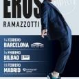 """EROS RAMAZZOTTI EN CONCIERTO PRESENTANDO """"PERFECTO WORLD TOUR"""" EL ARTISTA ITALIANO ACTUARÁ EN FEBRERO EN BARCELONA, BILBAO Y MADRID Tal y como ha adelantado durante la semana la emisora Cadena […]"""