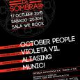 October people, Violeta Vil, Aliasing y Munic actuarán en una nueva edición del festival Melodías de Sombras La cuarta edición del festival cuenta de nuevo con un cartel repleto de […]