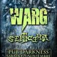 Noche de Thrash Metal en toda regla de mano de los mañosWARGy los valencianos Septicemia el próximo 21 de Noviembre. Entrada por tan solo 6 euros (incluye consumición). Apoya la […]