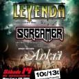 """LEYENDA, concierto de XX Aniversario y presentación en Madrid de """"Bienvenido al Paraíso"""" Como ya anunciamos en fechas pasadas, la formación de Heavy Metal melódico LEYENDA dará este sábado 14 […]"""