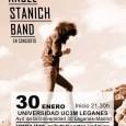 Ángel Stanich presenta su directo en la Universidad Carlos III de Leganés el próximo 30 de Enero de 2016 Stanich es un músico al margen. El más flagrante enigma del […]