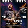 "King King, los ganadores de los premios ""Best New Band"" este año por Classic Rock Awards, nos visitarán en Junio presentando su tercer álbum de estudio, ""Reaching for the Light"" […]"