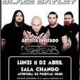 BLAZE BAYLEY + NIGHTFEAR: Sala Changó Live (C/Covarrubias, 4, Madrid). Apertura de puertas 20:00 de la tarde.  Entradas físicas a las venta en Sun Records (Plaza de Santo […]