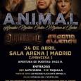 Todas las fotos realizadas en el concierto deA.N.I.M.AL. + MOSHTRENCO + SECOND SILENCE + DEATHSURRECTION celebrado en Sala Arenade Madridel día 24/04/16 →CLICKAR EN EL SIGUIENTE ← Fotos realizadas por: […]