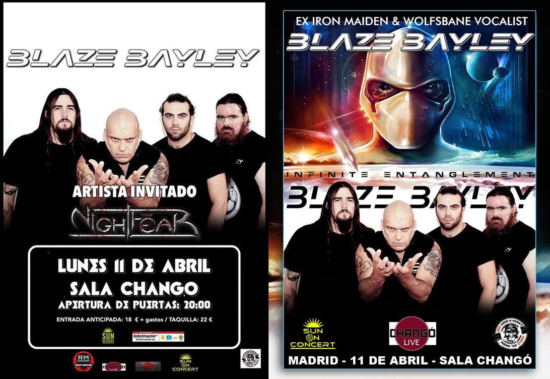 Hoy Concierto Blaze Bayley En Madrid