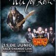 ULI JON ROTH + PRAYING MANTIS Madrid Sala Changó 11/06/2016 Casi tres años han pasado desde la última visita a Madrid del virtuoso guitarrista alemán y no estaba muy seguro […]