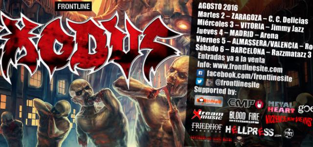 Vuelven los reyes del thrash metal! Banda seminal donde las alla, Exodus empezaron en 1979 en plena eclosión del Bay Area Thrash con Gary Holt (miembro fundador, actualmente en Slayer, […]