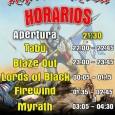 Ripollet Rock Festival 2016 – Horarios