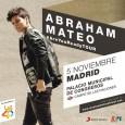 Abraham Mateo arranca con éxito la venta de entradas en Madrid El joven visitará la capital el 5 de noviembre, una cita que muchos esperaban y así lo demostraron el […]
