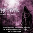 Los alicantinos Drueida visitarán las comunidades de Madrid, Málaga y Murcia, descargando su Heavy/Metal clásico al más puro estilo de bandas como Primal Fear o Judas Priest, presentando lo […]