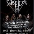 Asphyx visitarán Madrid el próximo 26 de Mayo y para celebrarlo habrá una oferta especial para las 50 primeras entradas vendidas Hablar de la formación holandesa Asphyx es hablar de […]