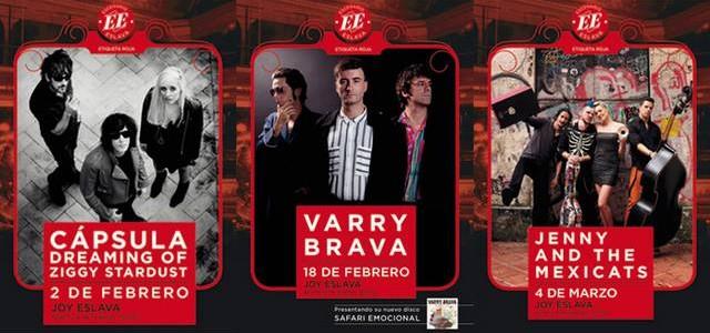 CÁPSULA, VARRY BRAVA Y JENNY AND THE MEXICATS LLEGAN A ESCENARIO ESLAVA Los conciertos Etiqueta Roja de Escenario Eslava tienen nuevos nombres que añadir a su cartel de artistas: Cápsula, […]