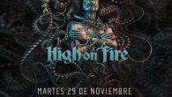 MESHUGGAH + HIGH ON FIRE Madrid Sala La Riviera 29/11/2016 Por alguna razón hay determinados grupos que comparten odios y amores casi a partes iguales, vamos, que no dejan indiferente […]