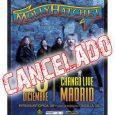 Cancelado el concierto de MOLLY HATCHET en Madrid Parece el Día (o la semana) de los Inocentes pero aún no lo es… aunque lo cierto es que se nos ha […]