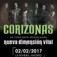 Juntémonos presenta CORIZONAS JUEVES, 2 DE FEBRERO LA RIVIERA Shows on Demand que ha organizado conciertos con Jorge Drexler, The Horrors y David Otero (El Pescao) en 2015 , o […]