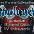 """AVALANCH (All Star Band) estarán homenajeando el XV aniversario de """"El ángel caído"""" en Madrid, en La Riviera el 17 de junio Es un honor paraSun ON ConcertyDuque Produccionespoder anunciar […]"""