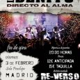 """LOS BENITO: FIN DE GIRA ESTE VIERNES EN MADRID. LOS BENITO cerrarán su gira """"Directo Al Alma"""" este viernes 3 de febrero en la Sala Penélope, de Madrid. Una gira […]"""