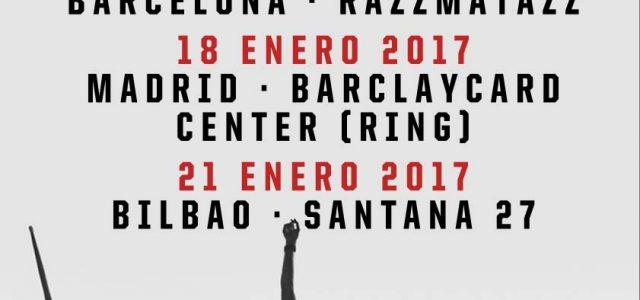 SUM41 confirman conciertos en España coincidiendo con la publicación de su nuevo álbum '13 Voices' 17 de Enero – Barcelona, Razzmatazz 18 de Enero – Madrid,BARCLAYCARD CENTER 21 de Enero […]