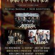 Anthrax, Sepultura, Talco y muchos más se unen al Resurrection Fest 2017 Por fin podemos anunciar nuevas bandas que se añaden el cartel. La maquinaria del Resurrection Fest no se […]