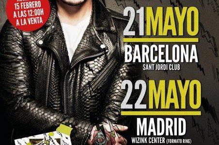 """J BALVIN ACTUARÁ EN BARCELONA Y MADRID EN MAYO PRESENTANDO """"ENERGÍA TOUR""""  Los seguidores de la estrella latina J Balvin están de suerte, y es que acaba de anunciar […]"""