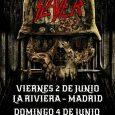 SLAYER VIERNES 2 JUNIO – MADRID – LA RIVIERA DOMINGO 4 JUNIO – A CORUÑA – SALA PELICANO Durante más de 35 años, las brutales embestidas de SLAYER y su […]