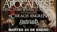 """CARACH ANGREN + NIGHTLAND Madrid Sala Arena 25/01/2017 Ya lo dice el refranero español, que es sabio, """"el hombre propone y Dio(s) dispone"""". Eso fue lo que pasó el pasado […]"""