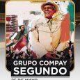 'GRUPO COMPAY SEGUNDO' LLEGA AESCENARIO ESLAVA La banda que homenajea al mítico artista Compay Segundo llevará sus ritmos cubanos el próximoel 25 de mayo a la sala Joy Eslava, en […]