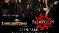 POR PRIMERA VEZ CAGE en Madrid!!! Con casi 30 años de historia, 7 discazos de puro Heavy Metal y un doble DVD, los americanos Cage, vuelven a España en su […]