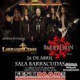 POR PRIMERA VEZ CAGE en Madrid!!! –Con casi 30 años de historia, 7 discazos de puro Heavy Metal y un doble DVD, los americanos Cage, vuelven a España en su […]