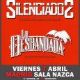 · Silenciados y La Desbandada estarán actuando en directo este viernes en la sala Nazca (C/Orense, 24) en Madrid. ·Entradas anticipadas a la venta en la plataforma www.wegow.com.  Doble […]