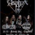 Asphyx en Madrid: todos losdetalles Asphyx en unos días en Madrid, os dejamos todos los detalles Asphyx, una de las referencias del Death Metal internacional vuelve a Madrid el próximo […]