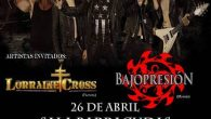 CAGE + LORRAINE CROSS + BAJOPRESIÓN Madrid Sala Barracudas 26/04/17 Cage no es una banda fácil de ver por estos lares. Desgraciadamente tampoco es una banda cuyas audiencias llenen pabellones, […]