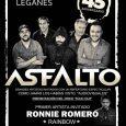 """Asfalto presentan su disco """"Sold Out"""" en el Teatro Egaleo de Leganés el próximo 15 de Julio Fecha –15 de Julio Hora –20:00 Precio –Anticipada 18€ / Taquilla 22€ Sala […]"""