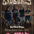 "BAD BONES US tour 2017 Kicks Off At The Whisky a Go Go Bad Bones have announced the first show of their ""Endless Road USA 2017 tour""! On November 24th, the […]"