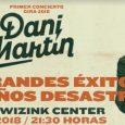 """El artistaDani Martininiciará su nueva gira titulada """"Grandes éxitos y pequeños desastres"""" en elWiZink CenterdeMadrid(ant. Palacio de los Deportes) el día 28 deabrildel2018en unconciertoque promete ser espectacular. Tras agotar las […]"""