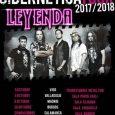 """LEYENDA nos presenta sus próximos conciertos Los madrileños LEYENDA irán poco a poco presentándonos más detalles de su próximo álbum """"Cibernetica"""" sobre el escenario. Para comenzar las fechas de presentación […]"""