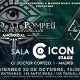 STONED AT POMPEii llegan a Madrid EN CONCIERTO  – Presentando su álbum 'Ancroidal' –  El debut discográfico con 'Ancroidal' de los vigueses STONED AT POMPEii viene acompañado de […]