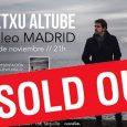 Txetxu Altube agota entradas para su presentación mañana en Madrid El cantante de Los Madison continúa con su proyecto en solitario y regresa con un disco grabado prácticamente en directo, […]