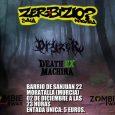 """El 02 de diciembre tenemos en concierto a DRYZER, que llegan a la sala Zerbizio de Moratalla (Murcia) desde Gerona a presentarnos temas de su ep """"Demon's Dimension"""". Si te […]"""